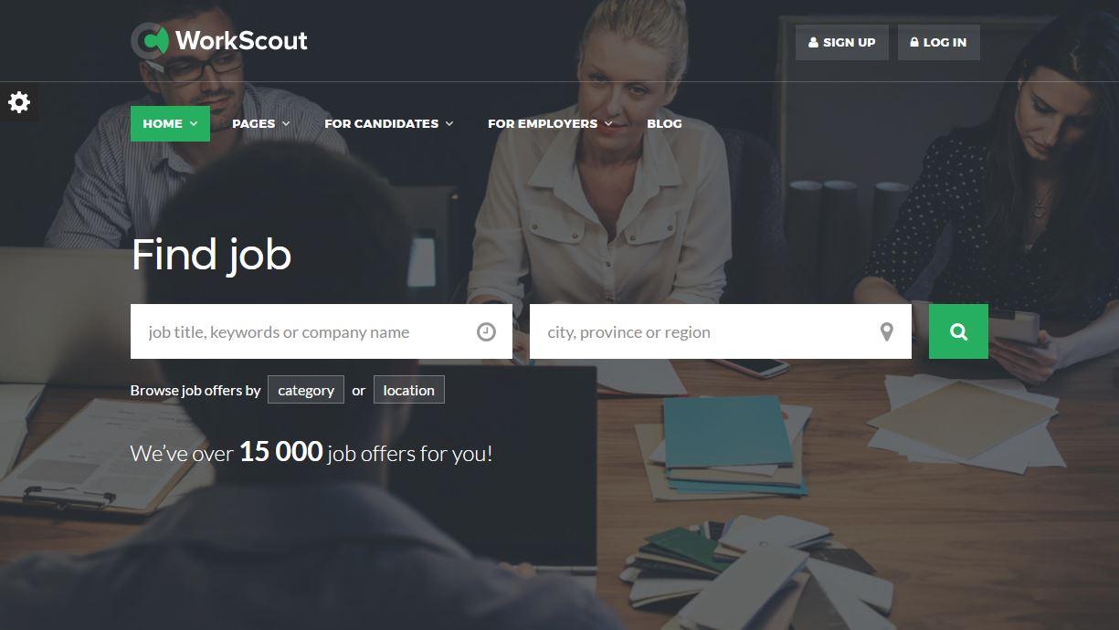 JobScout Premium Template