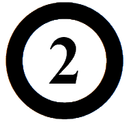 Number Icon Font Awesome
