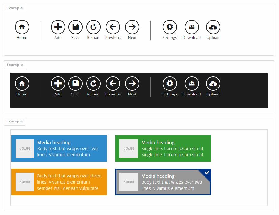Bootmetro Metro Style CSS UI Framework
