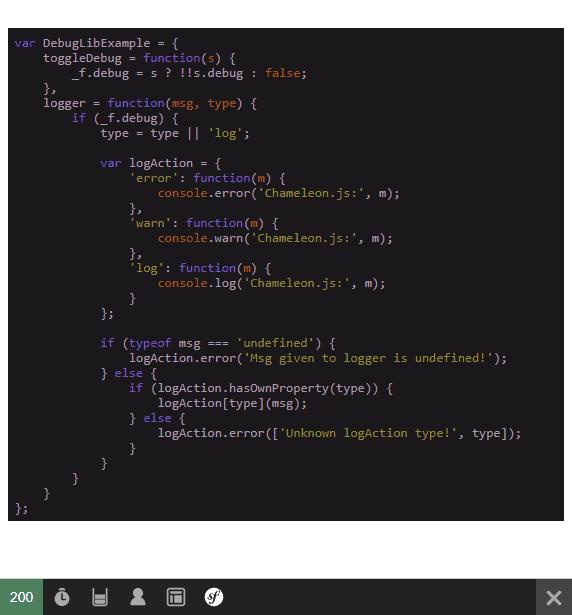 Highlight Code Server Side Symfony PHP
