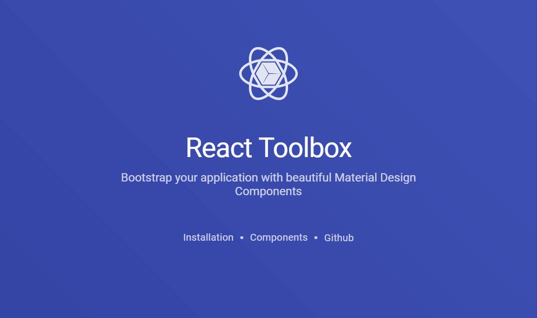 React Toolbox UI Framework