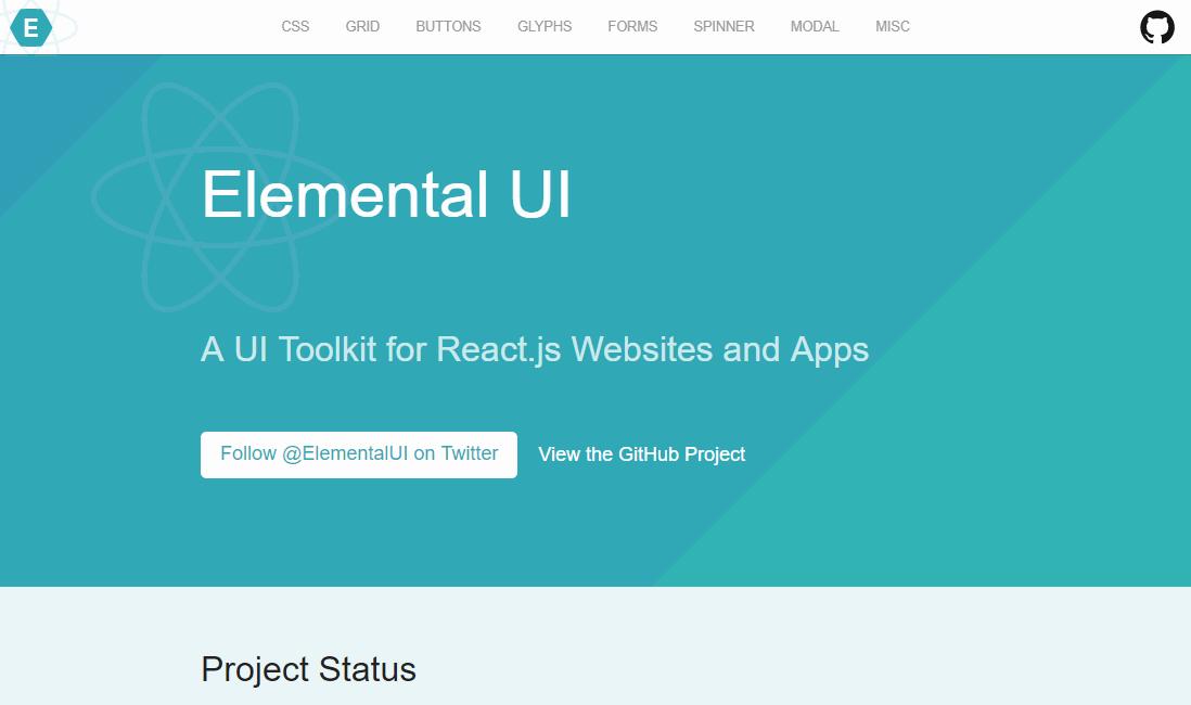 Elemental UI ReactJS