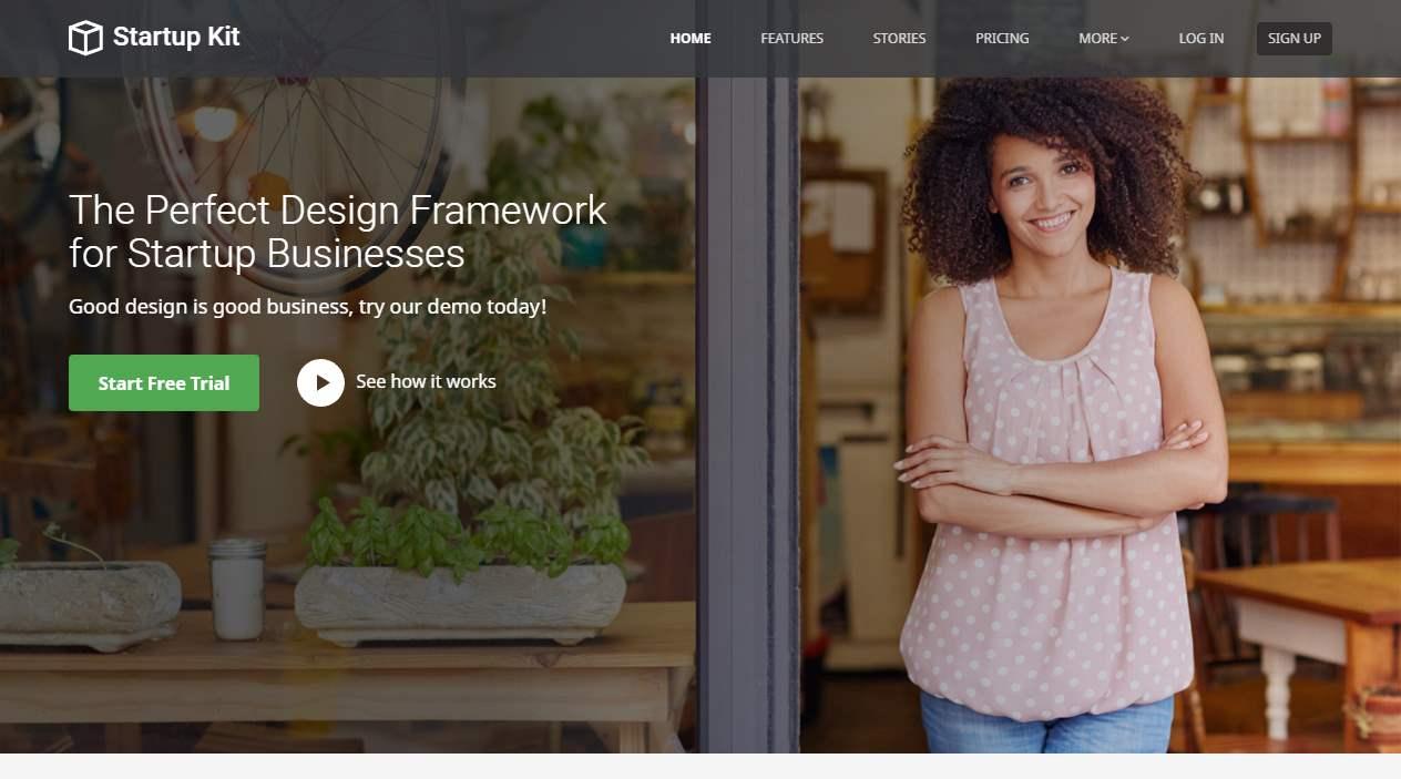 Startup Kit Premium Template