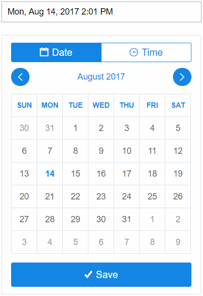 BOOTSTRAP 4 DATEPICKER FORMAT - jQuery Datepicker in Asp Net MVC