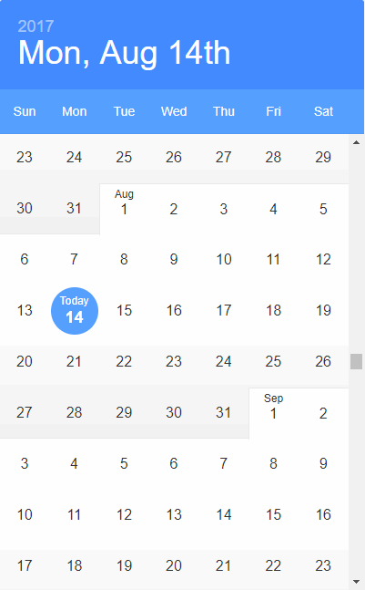 Top 10: Best Open Source ReactJS Datepicker Components | Our Code World