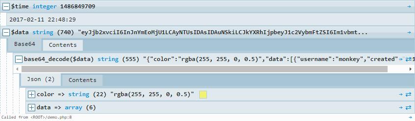 Kint Debuggin PHP Variables easily