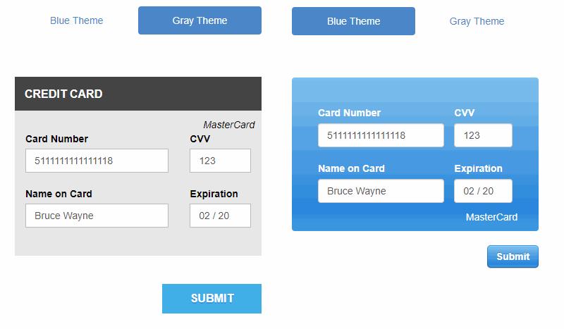 Creditly JavaScript Plugin