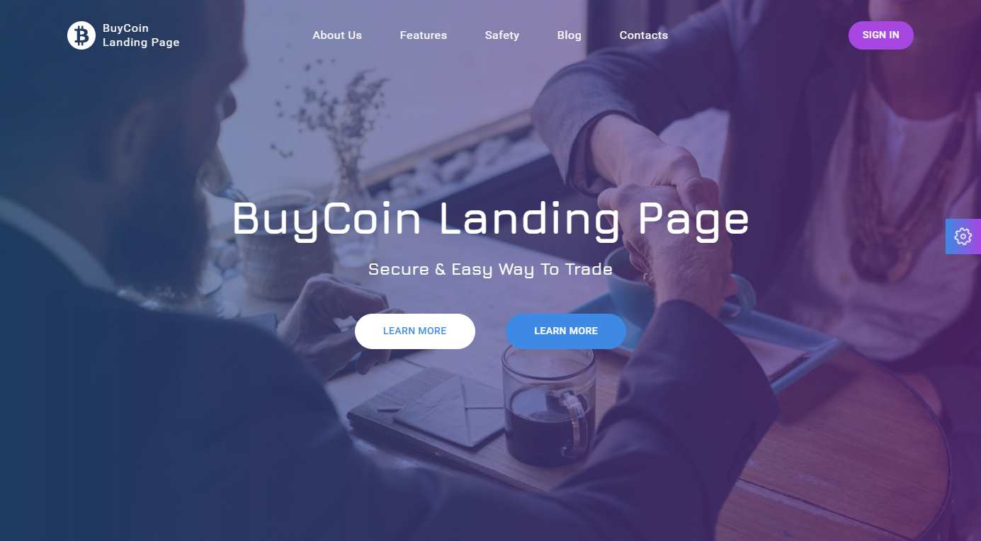 BuyCoin Premium HTML Template
