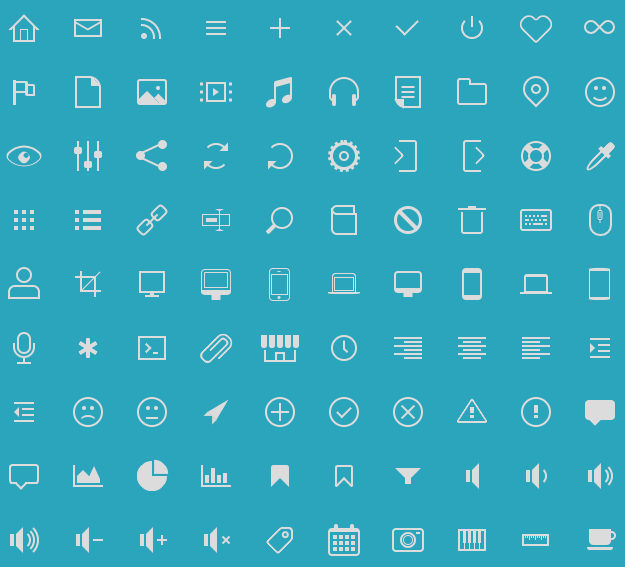 Top 10: Best Free Icon Fonts For Web Designers | Our Code World