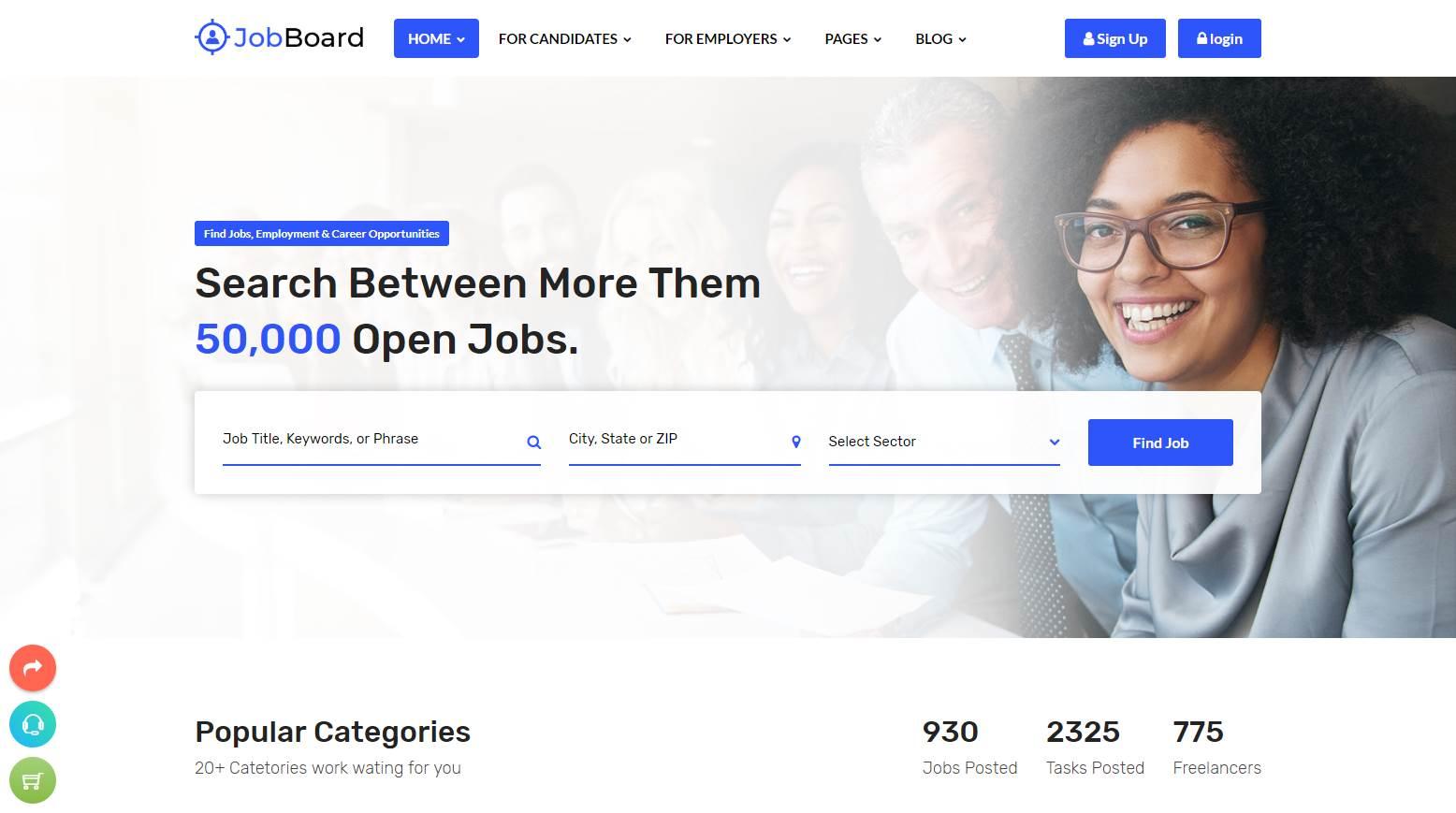 Job Board Template Premium