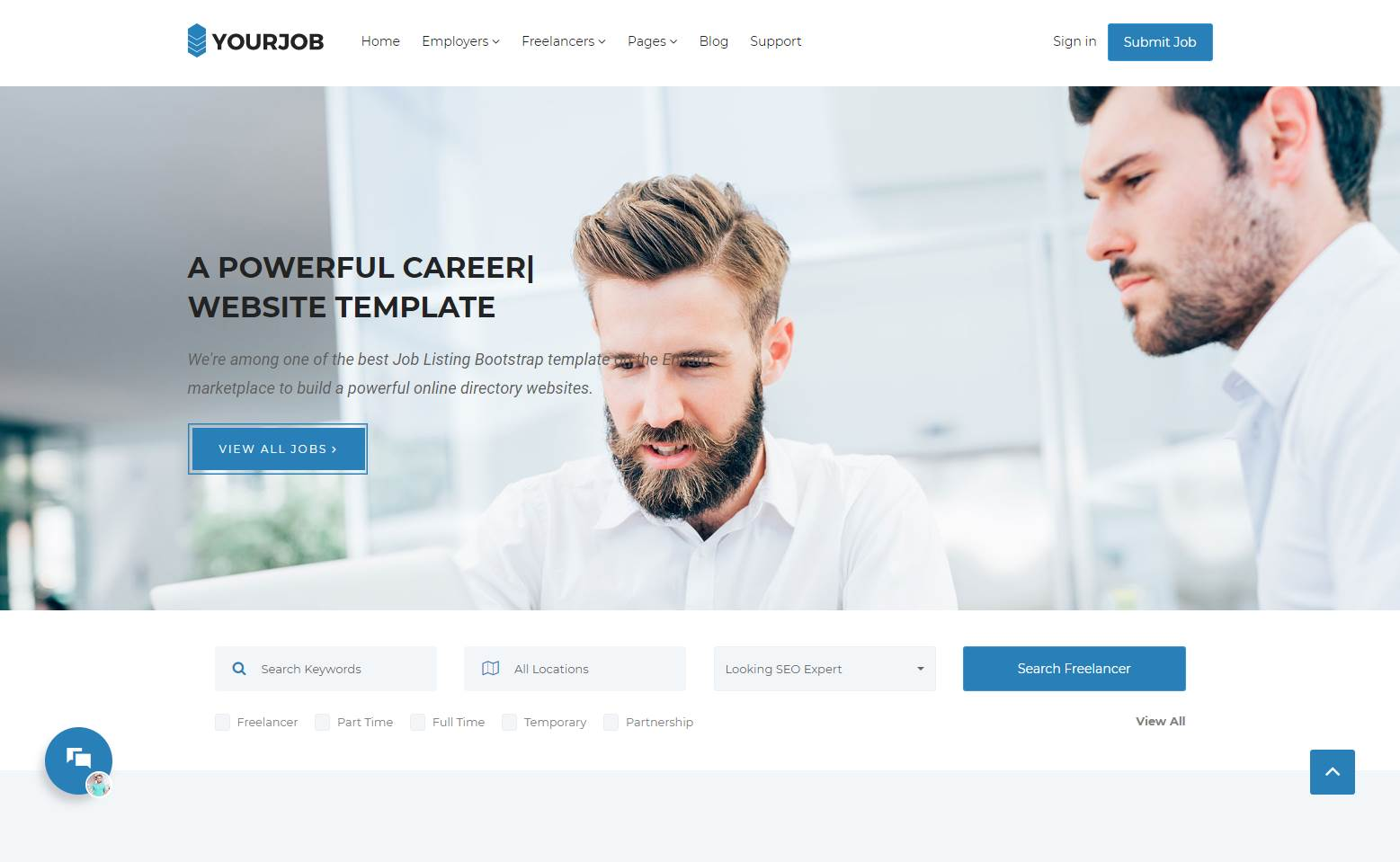 Your Job Premium Job Search Template