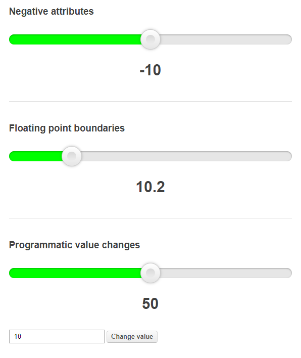 Top 7: Best Range Input Replacement JavaScript and jQuery