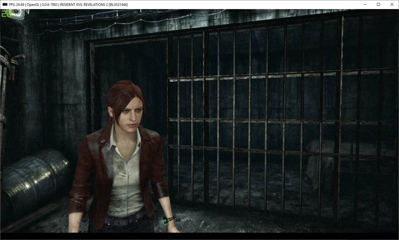RPCS3 PS3 Emulator Resident Evil Revelations 2