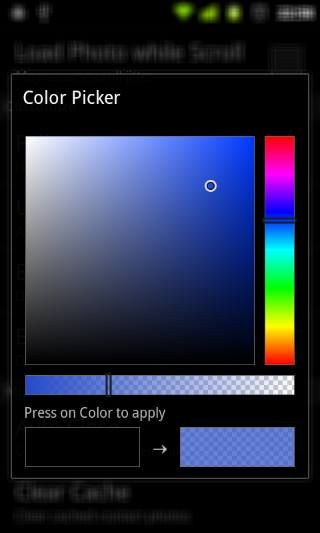 Android Colorpicker Preference