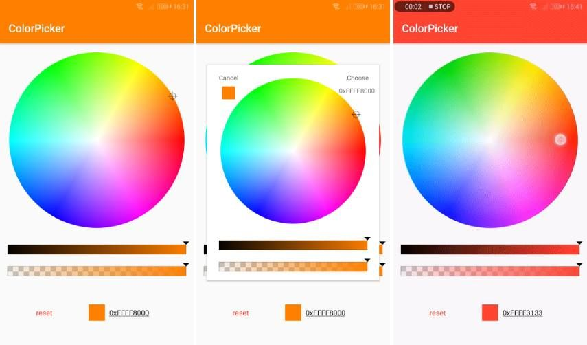 ColorPicker By Duanhong