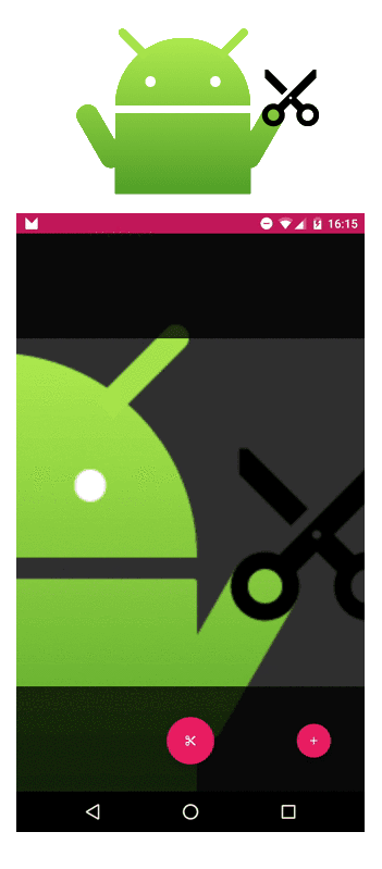 Scissors Crop Image Android Library