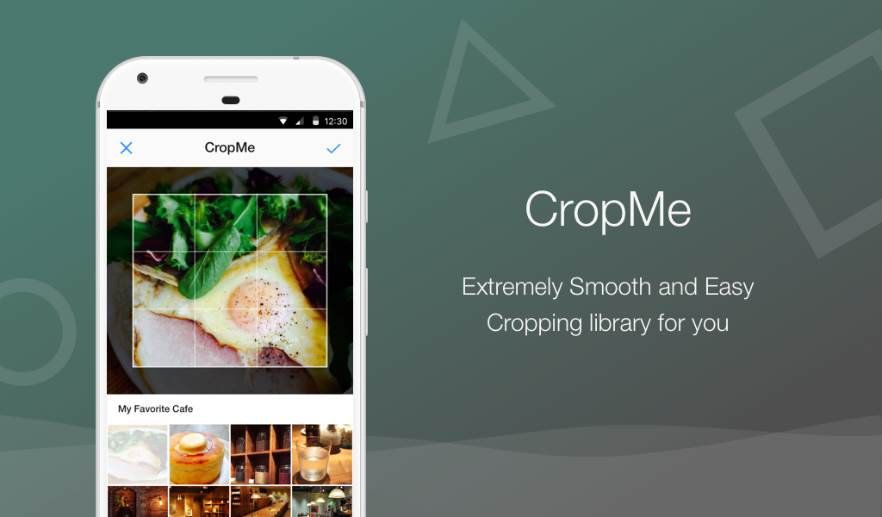 CropMe smoot cropping library