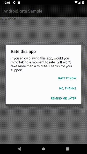 Android Rate