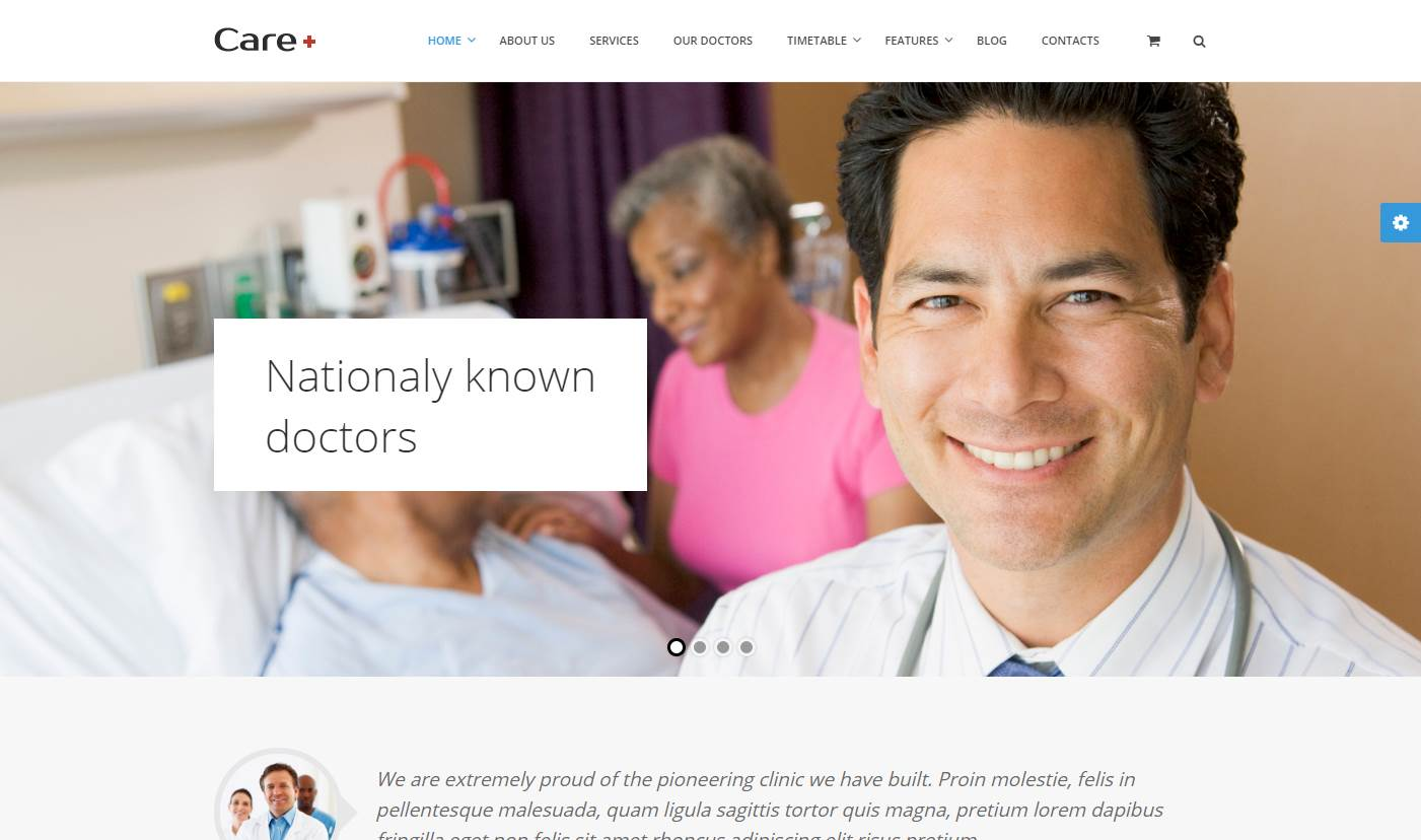 Care Medical & Health Premium Wordpress