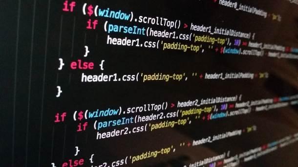 Code Image Background JavaScript