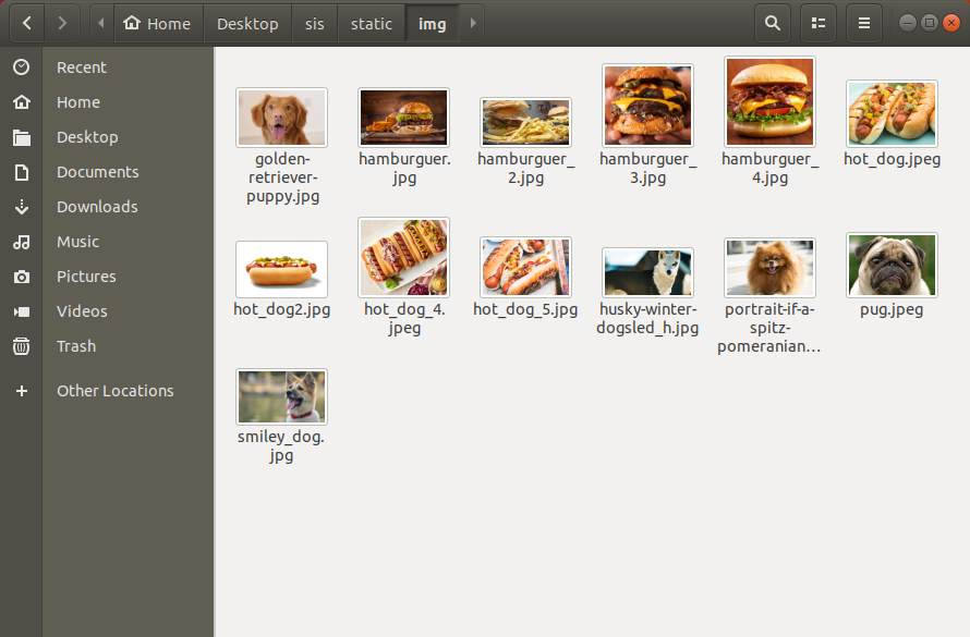 Picture Storage Static Keras Tensorflow Image Search Engine