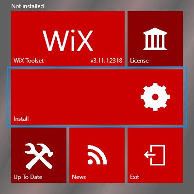 Wix Install