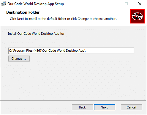 Change Installation Directory WIX