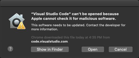 Open App Anyway MacOS