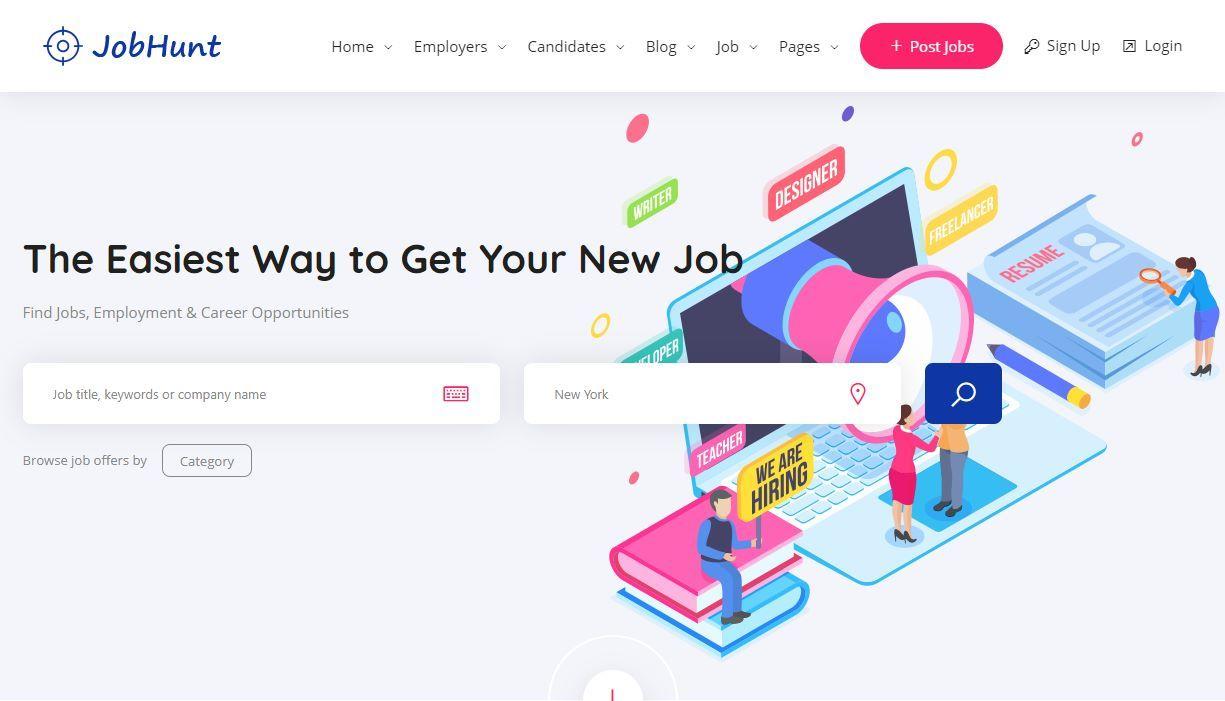 JobHunt premium job board