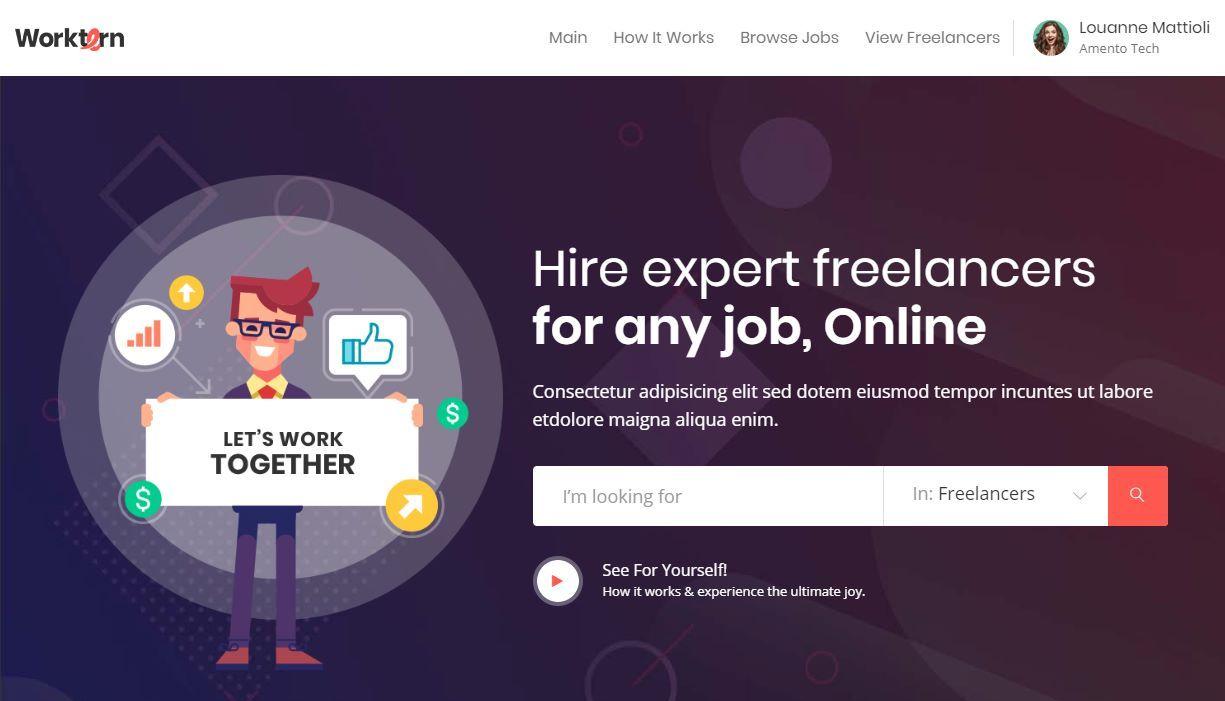 Worktern Premium Job Dashboard
