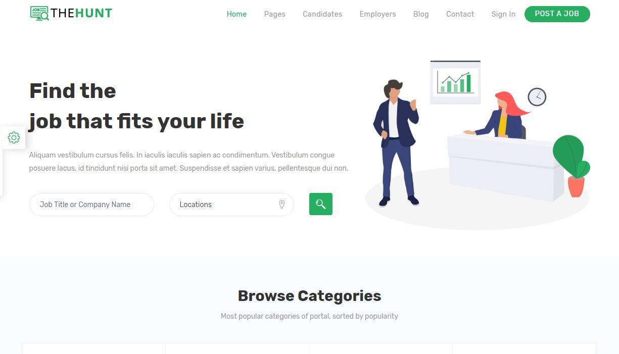 TheHunt Job Portal